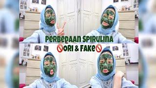 🚫Perbedaan spirulina ORI & FAKE 🚫