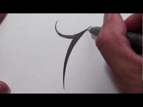 how-to-draw-a-simple-tribal-number-7