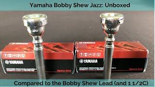 Bobby Shew Jazz vs Lead Trumpet Mouthpiece. Same or Different?