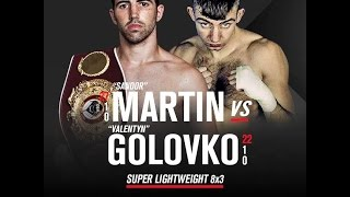 AEBOX - Sandor Martín vs Valentyn Golovko