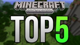 Top 5 Minecraft Xbox 360 Structures - SHIPS / BOATS