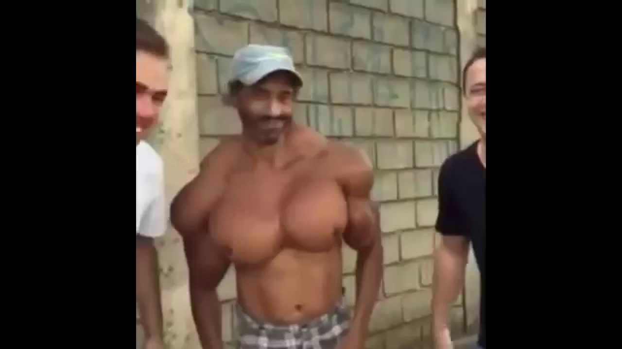 Synthol Freak  Man With The Biggest Synthol Boobs - Youtube-5151