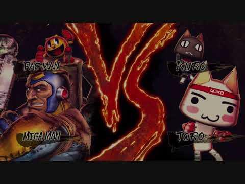 Street Fighter X Tekken Vs Screen Toro Kuro Youtube