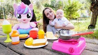 Пикник на природе с Литл Пони и Поняней - Видео для детей