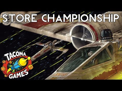 X-Wing Store Championships -- Semi-Final  [Forrest v Brian]