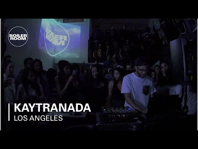 Kaytranada Boiler Room Los Angel