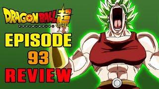 Dragon Ball Super Episode 93 REVIEW | SHE'S A KALE-R QUEEN!
