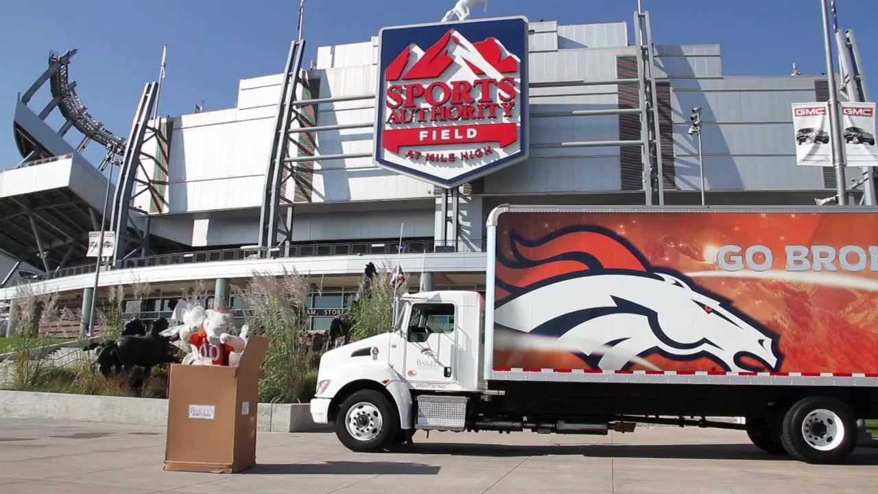 Denver Broncos | Baileyu0027s Moving And Storage Commercial | 2012