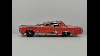 Matchbox Series No 22 Pontiac G.P Sports Coupe - Restoration Video