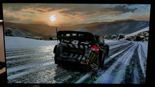 Forza Horizon 3 Blizzard Edition LG OLED C7 Custom Picture Game HDR Settings
