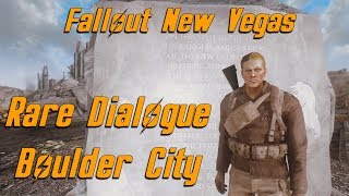 What happens when you shoot the monument at Boulder City - Fallout New Vegas