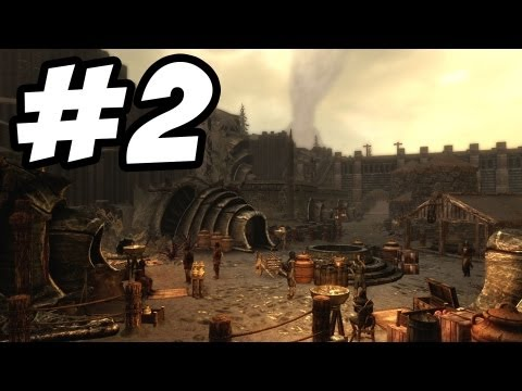 Skyrim Dragonborn DLC Gameplay Walkthrough Part 2 - The Temple of Miraak