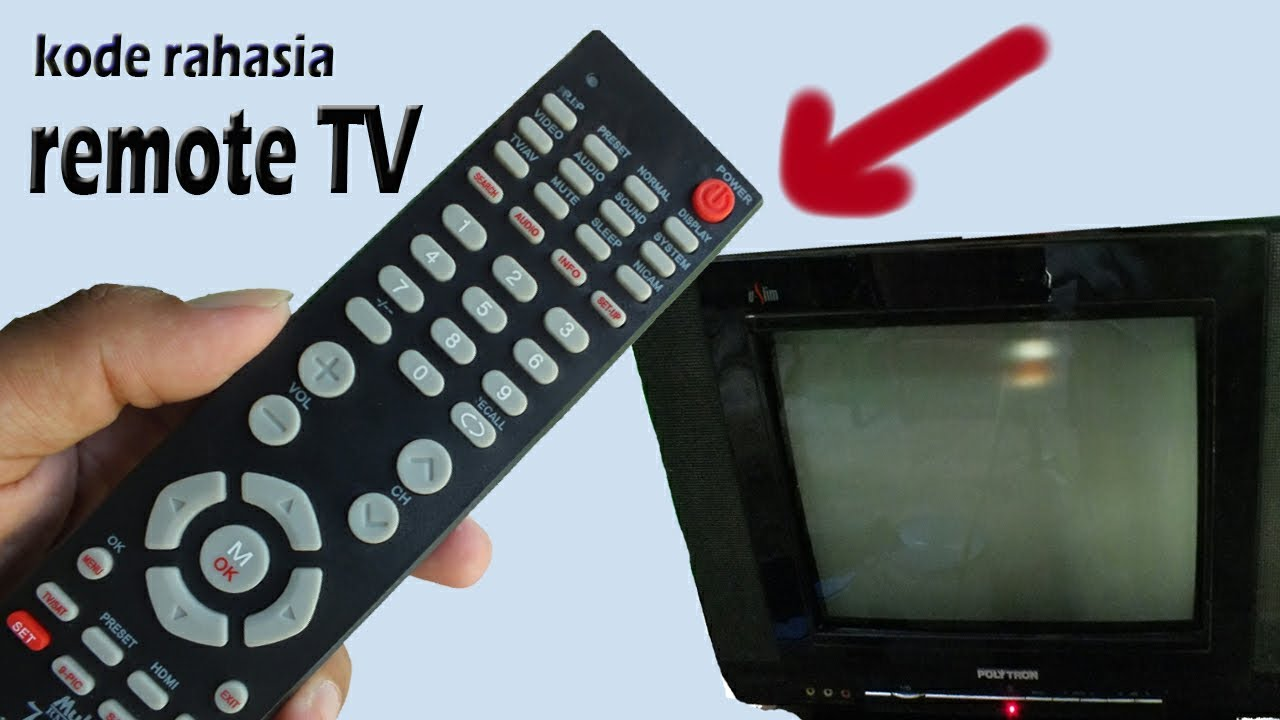 Kode Rahasia Remote Tv Youtube