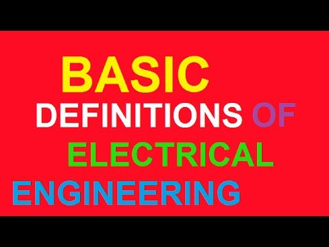 basic definitions of electrical circuits and network [hindi/urdu]
