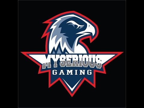 tutorial corel draw x7 Myserious gaming logo design