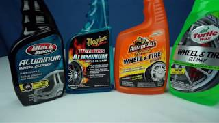Budget Wheel Cleaner Shootout - Four $5 Bottles Tested