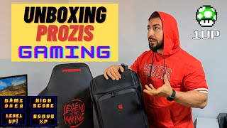 Unboxing Prozis - Suplimente nutritive || Echipament gaming