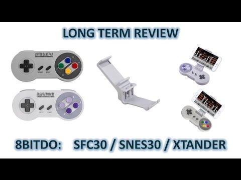 Long Term Review: 8BITDO SFC30 / SNES30 / Xtander