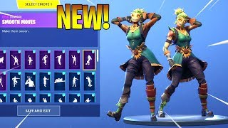 *NEW* STRAW OPS SKIN With DANCE EMOTES SHOWCASE! Fortnite Battle Royale
