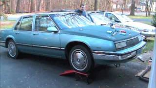1987 Buick Lesabre exhaust sound, open header