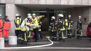 Brand im Hochhaus de Agentur für Arbeit – 300 Personen evakuiert