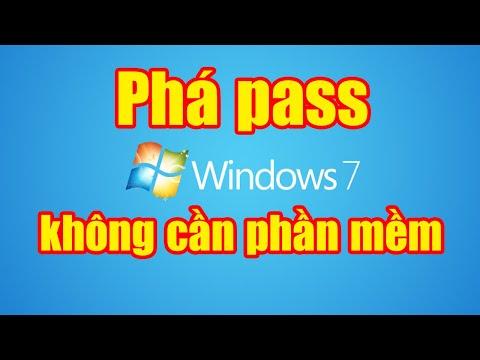 hack wifi cho laptop không cần phần mềm - Phá pass Windows 7 không cần phần mềm