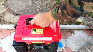 видео Бензиновый инверторный генератор Dde Dpg2101i инверторный