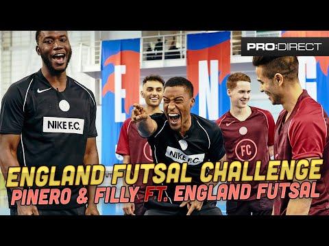 HARRY PINERO, YUNG FILLY Ft ENGLAND FUTSAL TEAM | SKILLS CHALLENGE