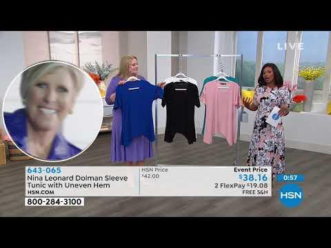 HSN | Nina Leonard Fashions. http://bit.ly/2XriJuf