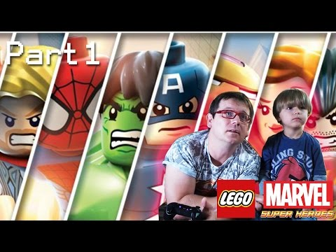 Video Game Fun: Lego Marvel Superheroes Video Game; Part 1