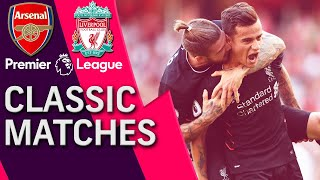 Download Arsenal v. Liverpool   PREMIER LEAGUE CLASSIC MATCH   8/14/16   NBC Sports Mp3 and Videos