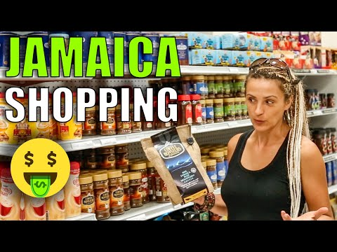 Cost of Living in Jamaica. Grocery Shopping. Supermarket.