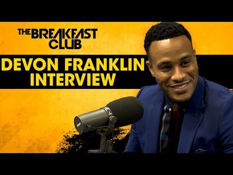 DeVon Franklin On How To Be Successful Without Compromising Your Spirituality