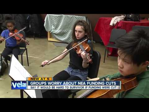 Local impacts from cutting arts funding