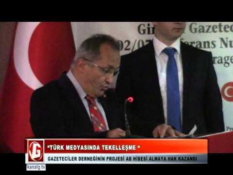 Türk Medyasında Haber Takibi - Kanal G TV