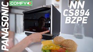 Panasonic NN-CS894BZPE - многофункциональная СВЧ-печка с опцией ECONAVI - Обзор от Comfy.ua