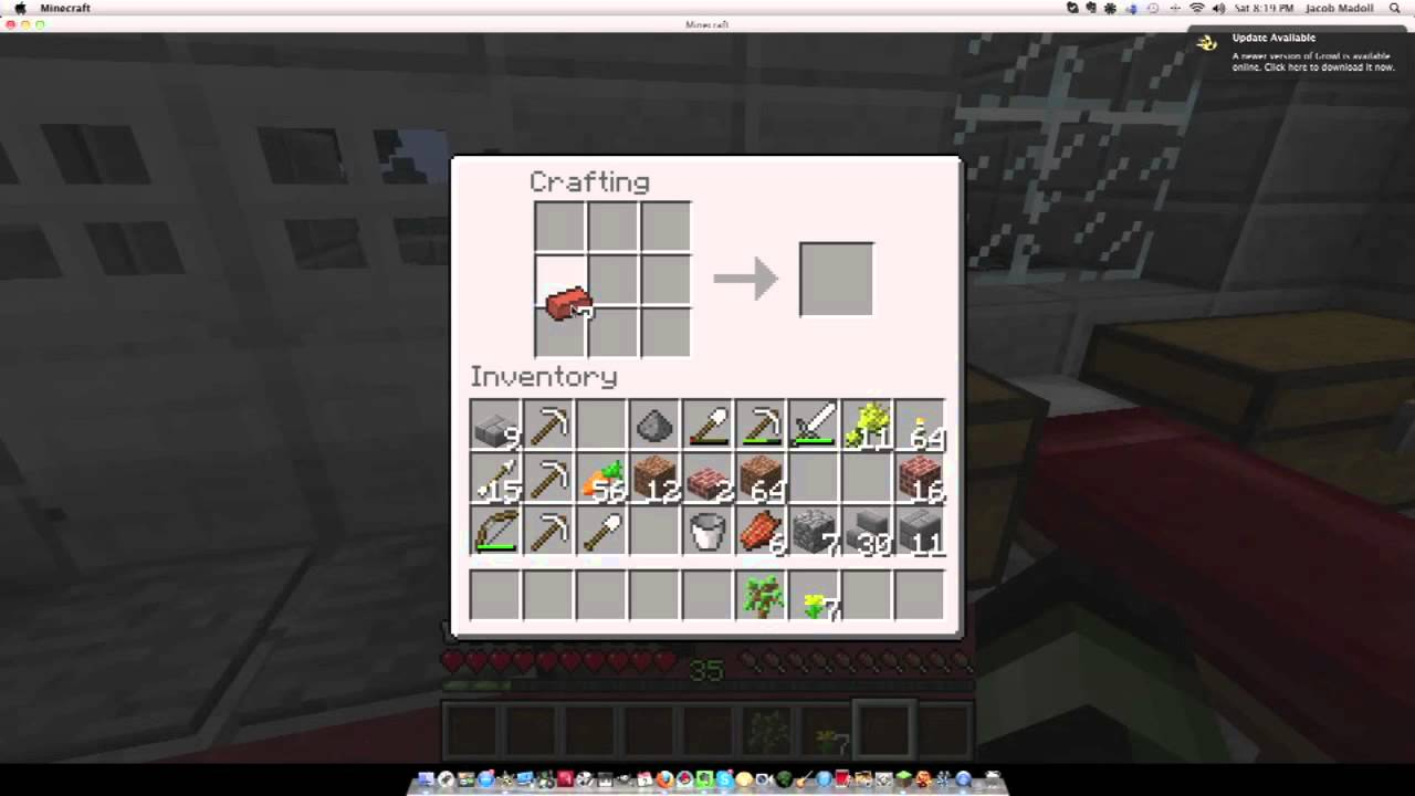minecraft tutorial: how to use/make flower pots - youtube