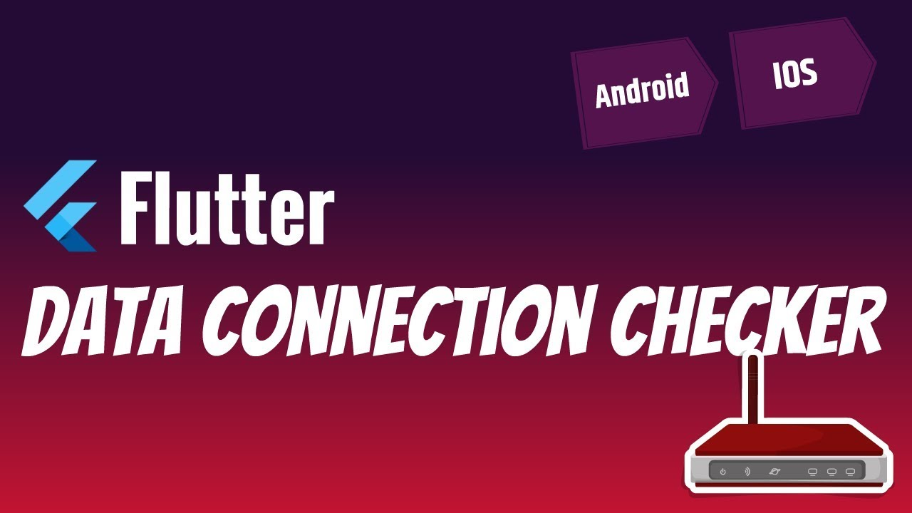 Flutter: Data Connection Checker | Wifi connected but no