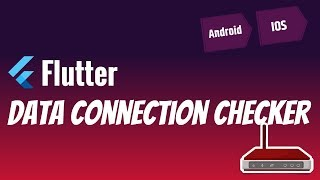 Flutter: Data Connection Checker   Wifi connected but no internet