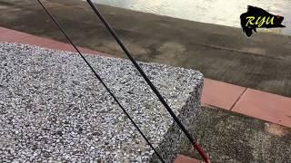 Spinning rod custom to baitcasting rod / OkFish tiny game 1-3lbs / Ryu Chiang / 关丹烂钓俱乐部 / PB / 皇帝鱼