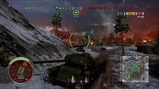 WOT KV-85 Gameplay 4Kills 1850 Damage