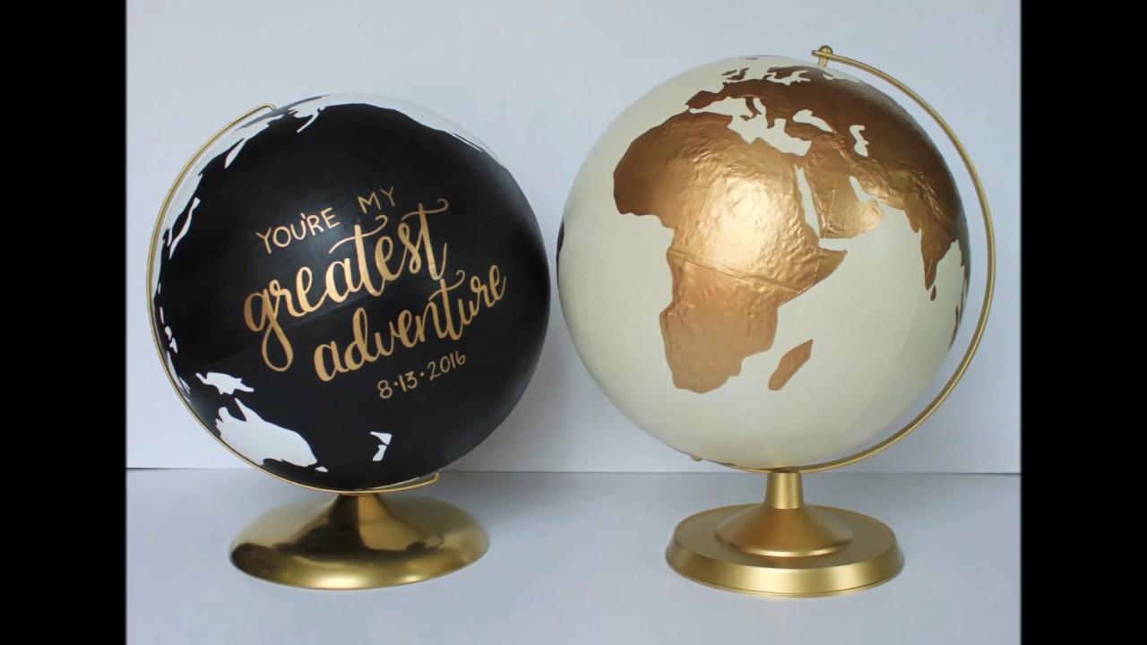 Como decorar bolas del mundo fant stico youtube - Bola del mundo decoracion ...