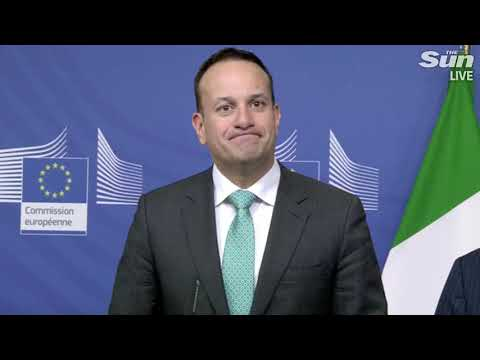 Juncker and Varadkar stand strong ahead of Theresa May's Brussels trip
