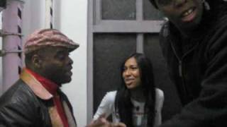 """Melanie Fiona- Unplugged in the Staircase """"GIVE IT TO ME RIGHT"""""""