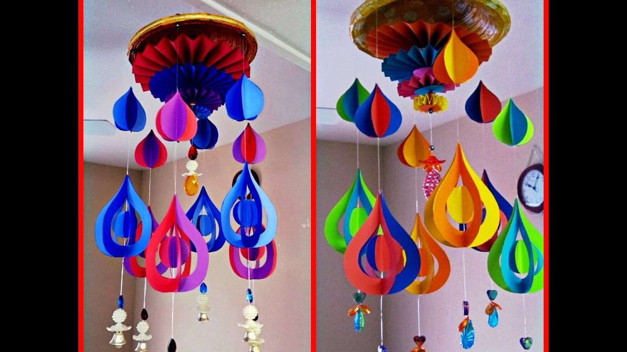 #diy Art And #craft #tutorial : DIY Wind Chime Part 1 Of 4