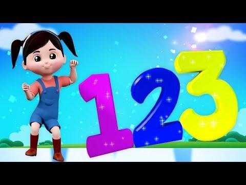 Numero Canzone 1 a 10   italiani numeri per bambini   educativi Video   Numbers Song In Italian