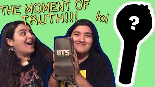bts army bomb unboxing