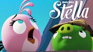 Angry Birds Stella -  New Update Golden Map Walkthrough Part 32