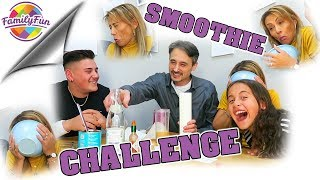 Smoothie Challenge SUPER EKLIGE ZUTATEN - old school Family Fun