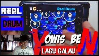 YOWIS BEN (Lagu galau) cover Real Drum